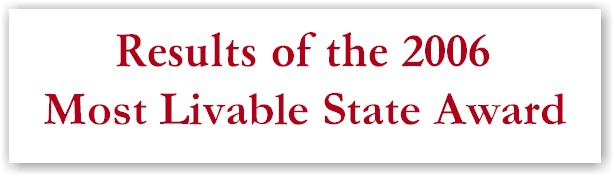 2006 Most Livable State Award