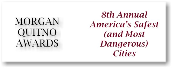 Morgan Quitno's America's Safest City Award